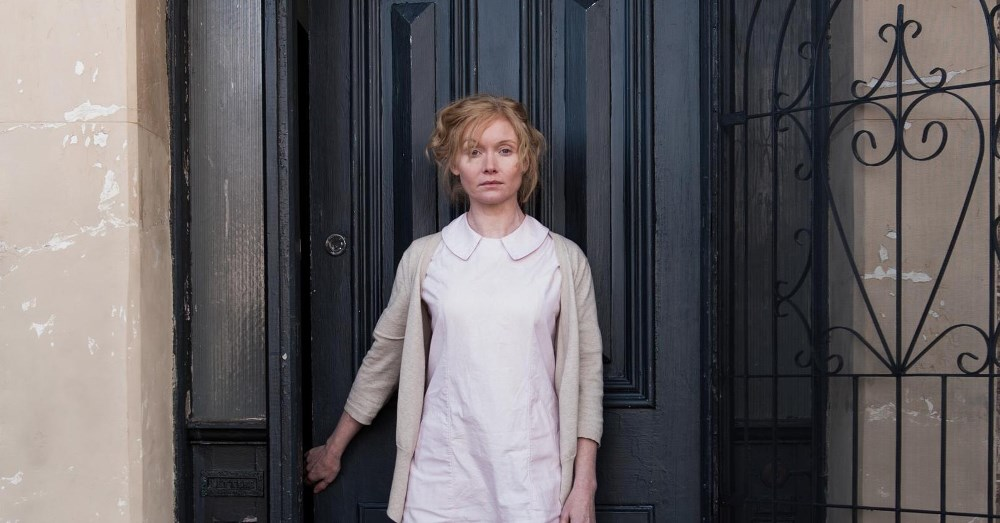 Still of Essie Davis as Amelia in the Babadook a grieving mother