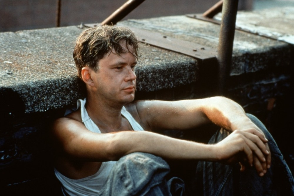 still of Tim Robbins as Andy Dufresne in Shawshank Redemption