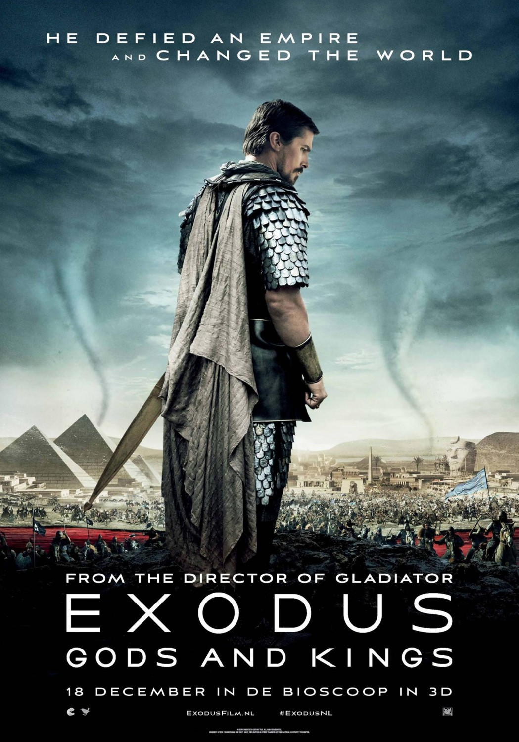 Straight from a movie Exodus