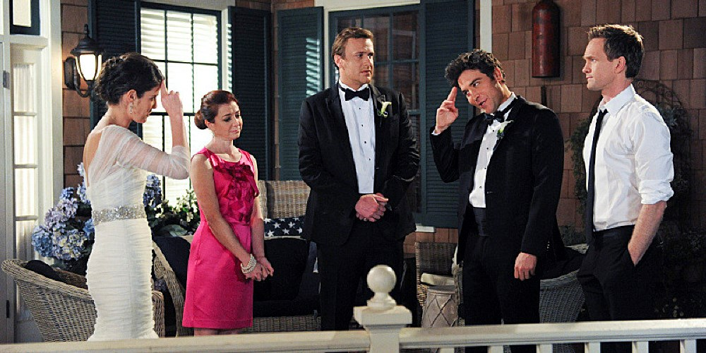 still from how i met your mother finale episode