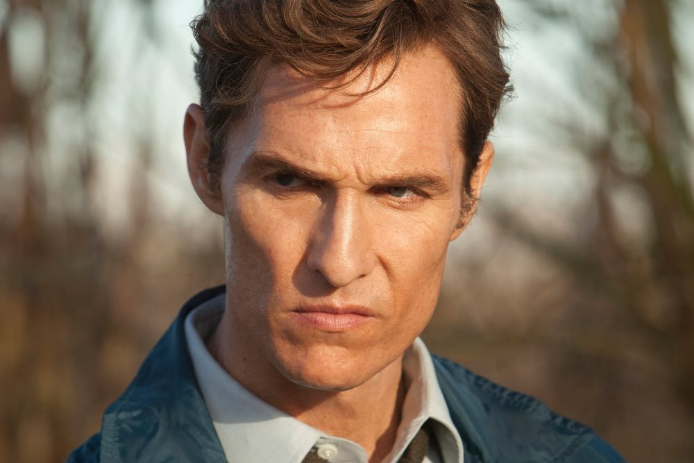 Still of Rust Cohle in True Detective Matthew McConaughey