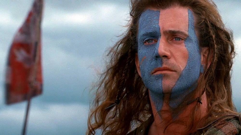 still of william wallace mel gibson in Braveheart