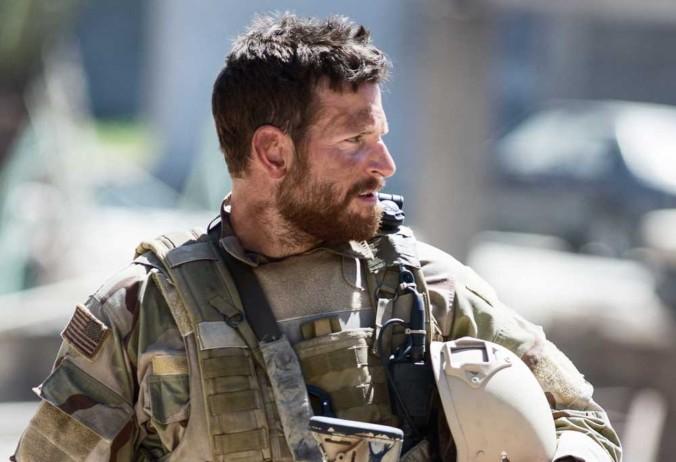 Still of Bradley Cooper as Chris Kyle in American Sniper Movie