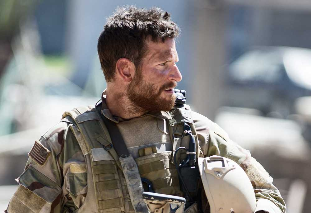 Still of Bradley Cooper as Chris Kyle in American Sniper Movie