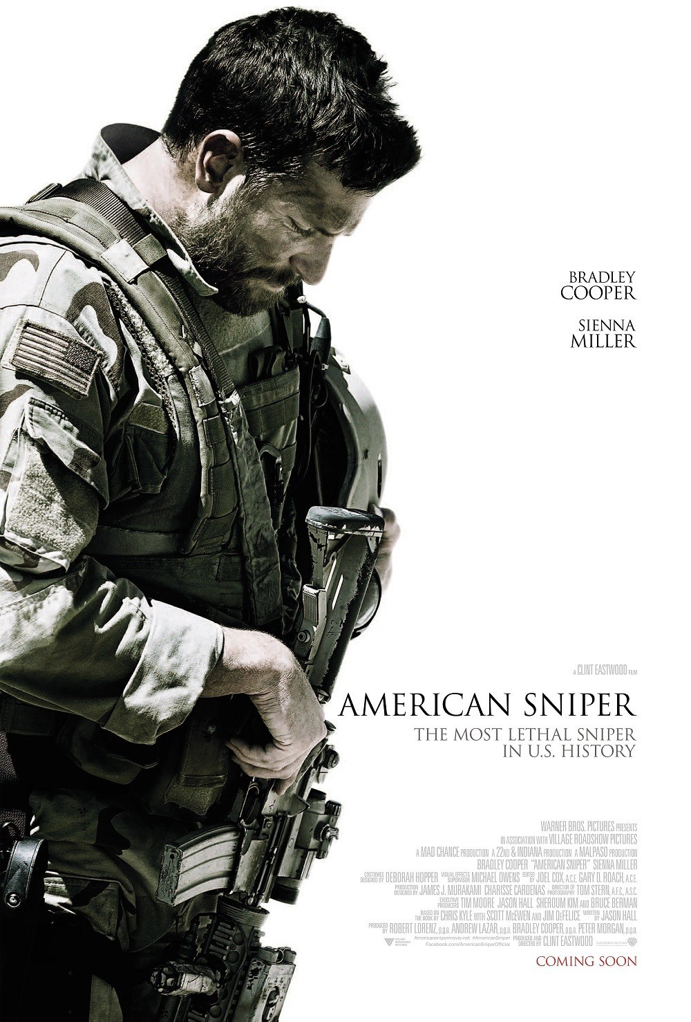 Straight From a movie American Sniper