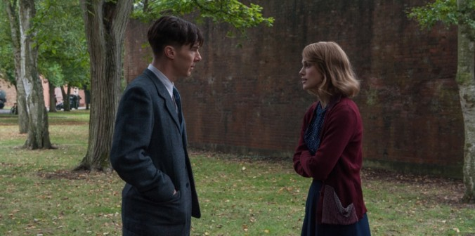 still of benedict cumberbatch and keira knightley in the imitation game