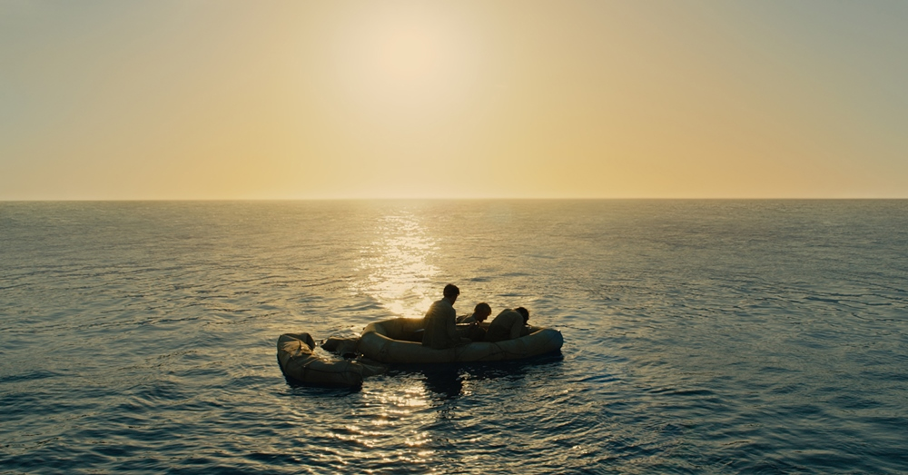 still from unbroken lost men in the sea