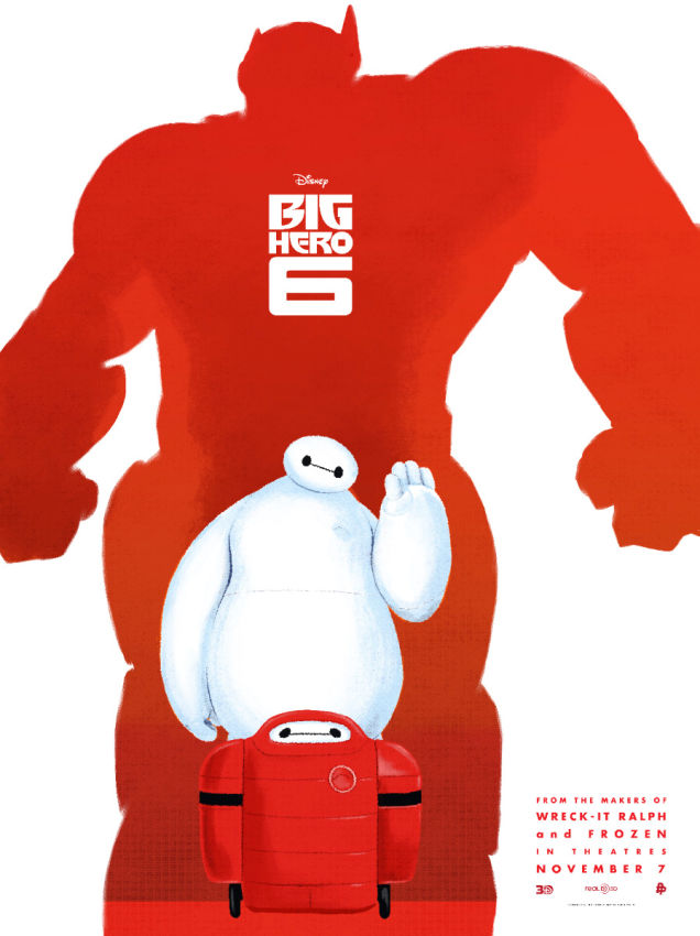 Straight from a movie Big Hero 6