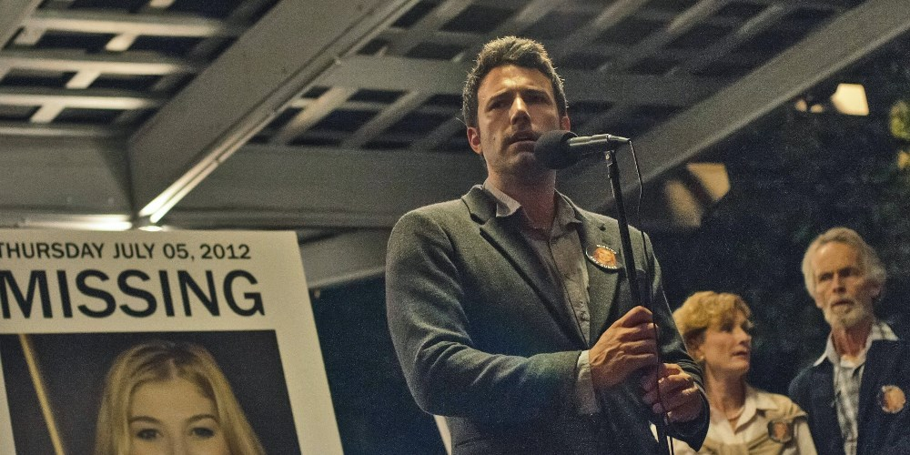 Still of Ben Affleck from Gone Girl movie wallpaper