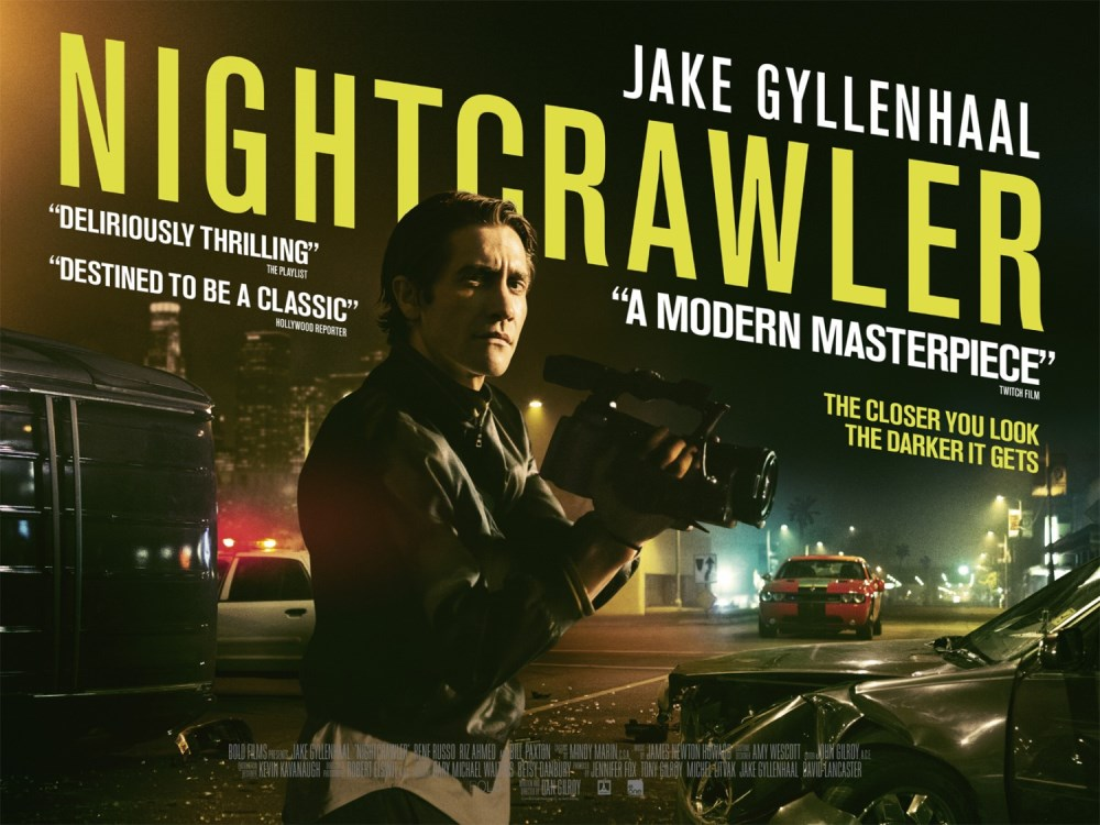 nightcrawler movie wallpaper