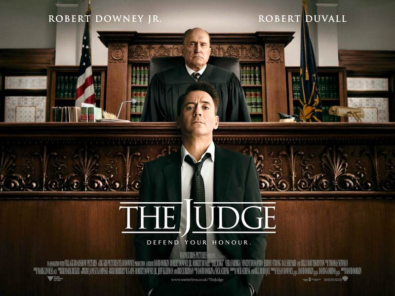 straight from a movie the judge
