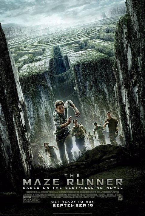 Straight from a movie The Maze Runner