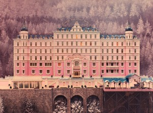 The Grand Budapest Hotel movie wallpaper