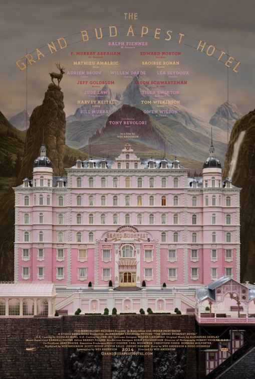 Straight From a movie The Grand Budapest Hotel poster