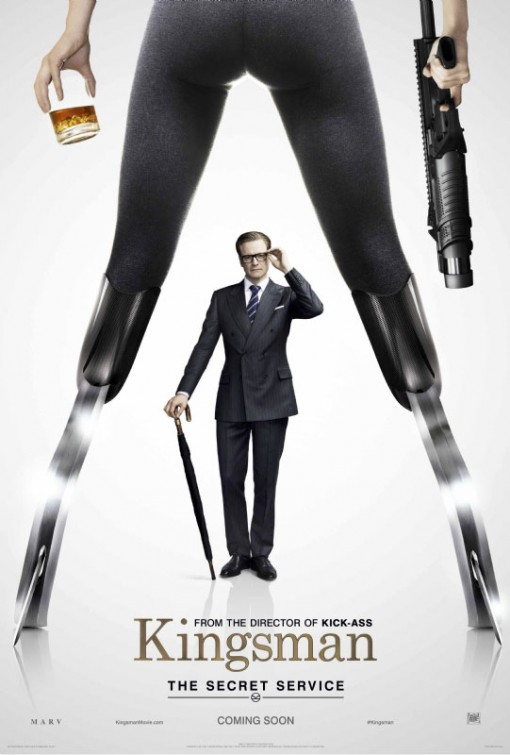 straight from a movie Kingsman poster