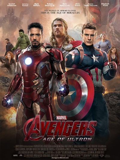 Straight from a movie avengers age of ultron poster