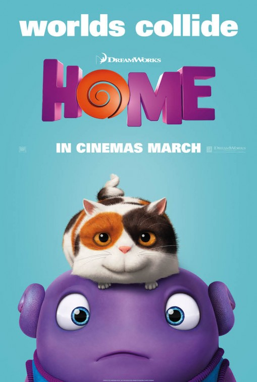 Straight from a movie home movie poster