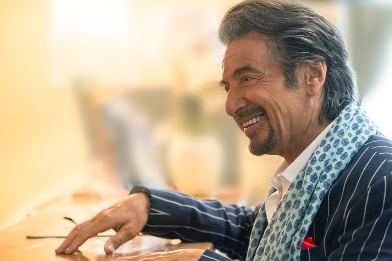 Still of Al Pacino as Danny Collins in Danny collins movie