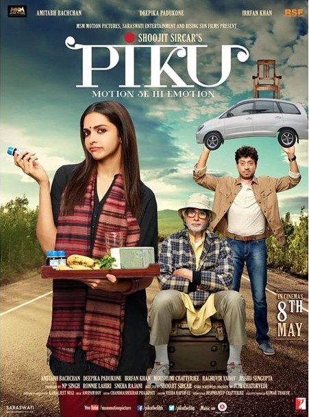 Straight from a movie piku poster