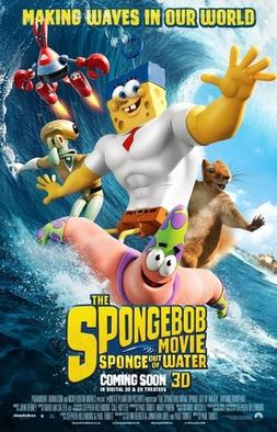 Straight from a movie The SpongeBob movie poster