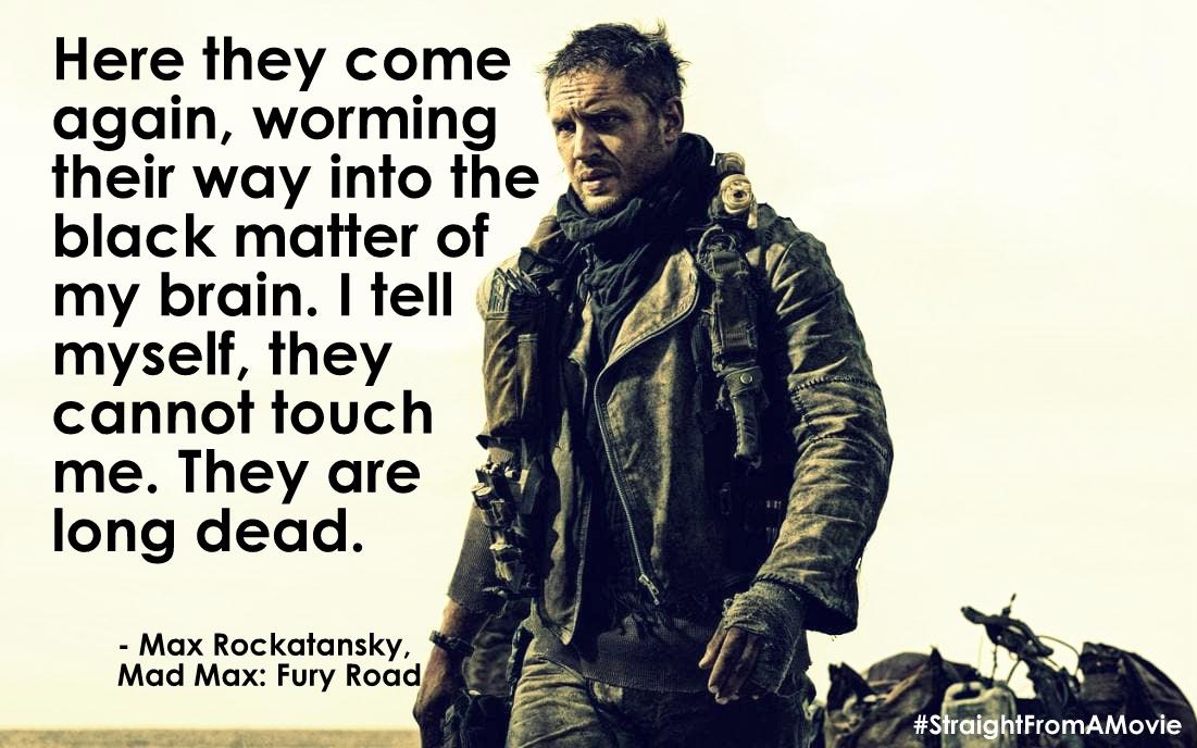 Mad Max Fury Road quotes