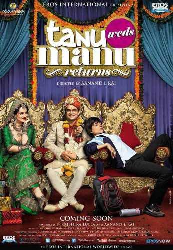 Tanu Weds Manu returns movie poster
