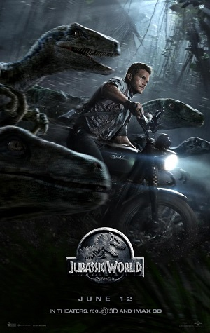 Jurassic World The Movie poster
