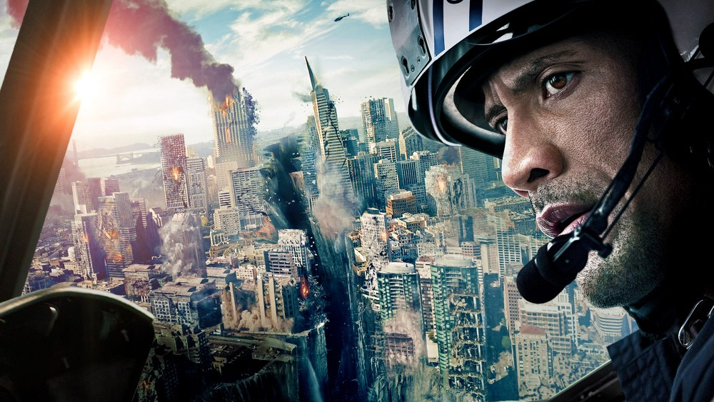 San Andreas movie wallpaper