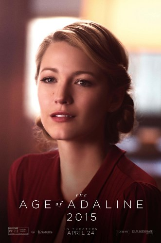 Blake Lively in The Age of Adaline movie poster