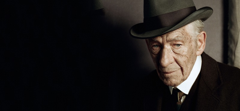 Still of Ian McKellen from Mr. Holmes movie