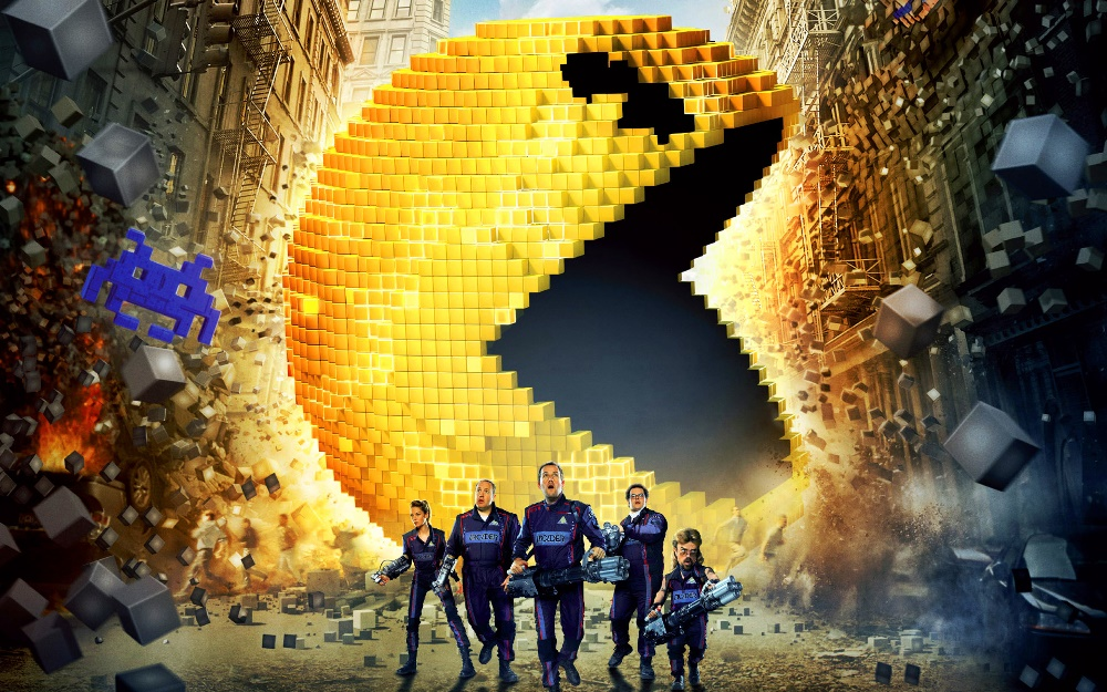 pixels movie wallpaper