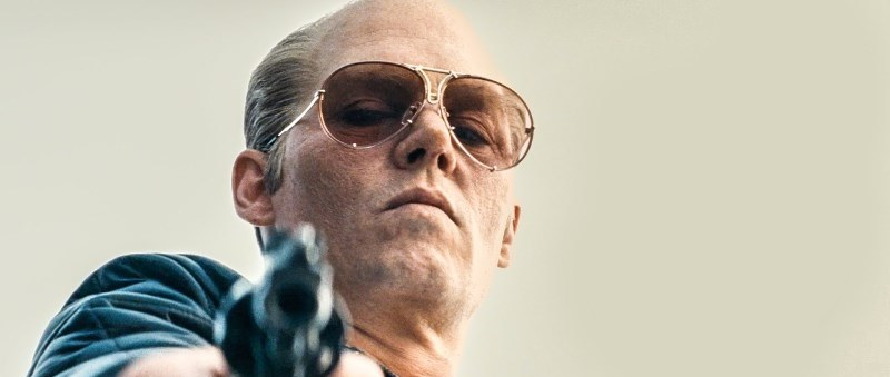 still of Johnny Depp in the black mass movie