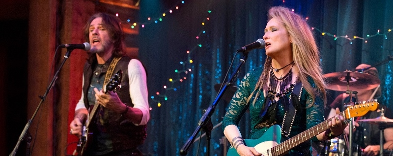 Still of Meryl Streep and Rick Springfield from Ricki and the flash movie