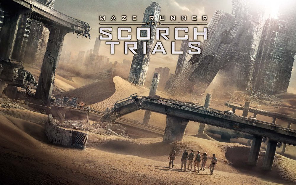 Maze runner: Scorch Trials movie wallpaper