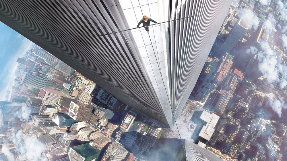 The walk movie wallpaper top view