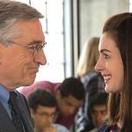 still of robert de niro and Anne Hathaway from the intern movie
