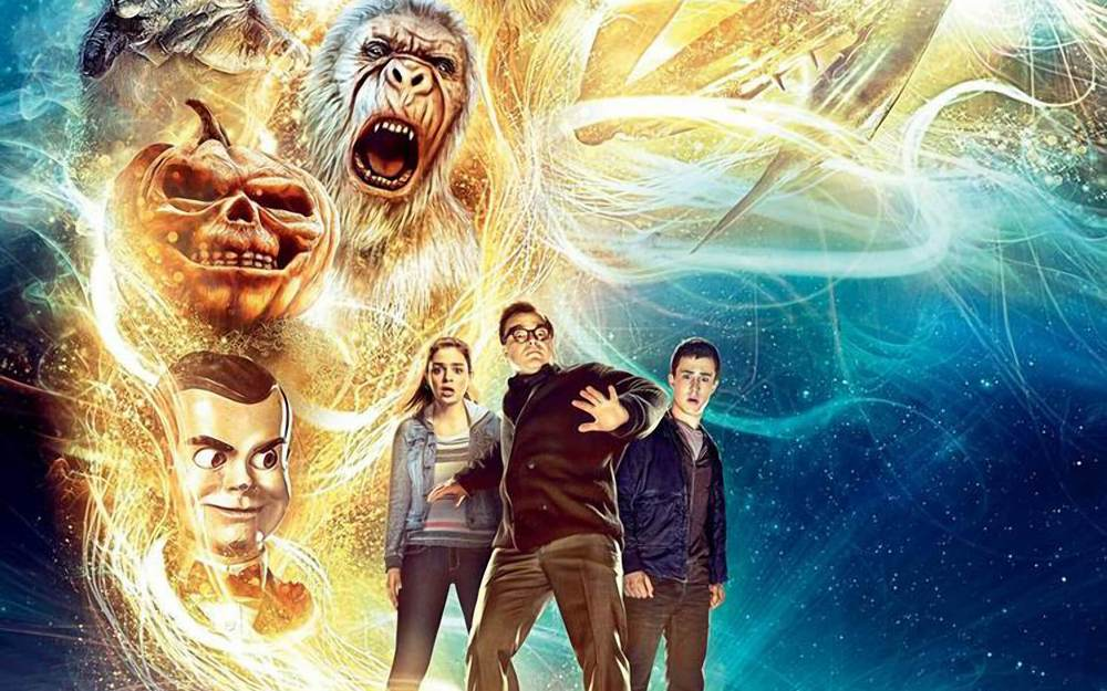 Goosebumps movie wallpaper