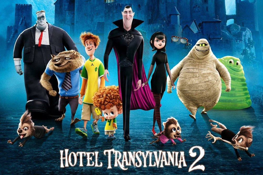 Hotel Transylvania 2 movie wallpaper