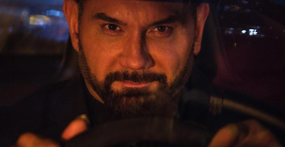 still of Dave Bautista in Spectre movie by Sam Mendes