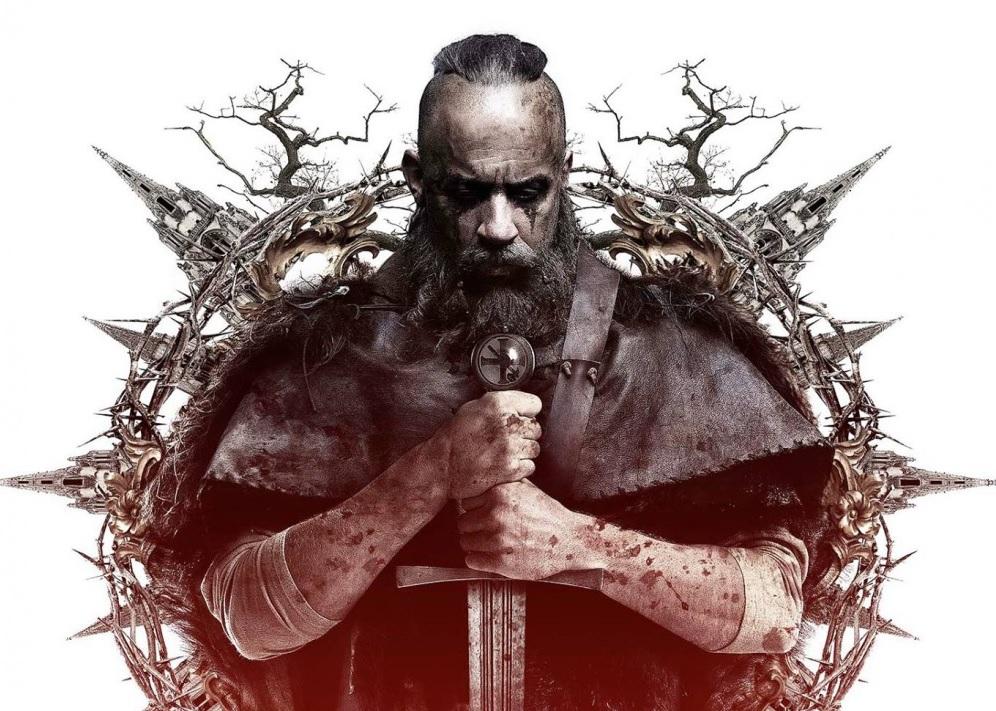 Vin Diesel in The last witch hunter movie wallpaper