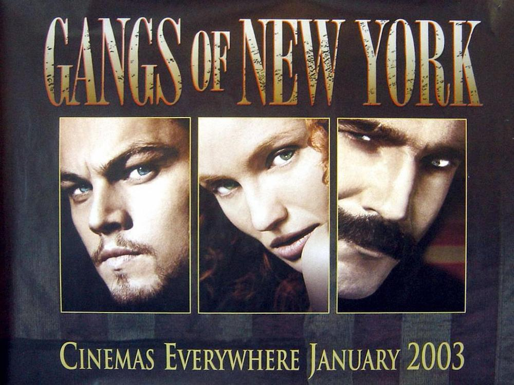 Gangs of new york movie wallpaper