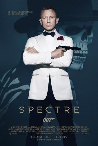 Spectre movie poster 007