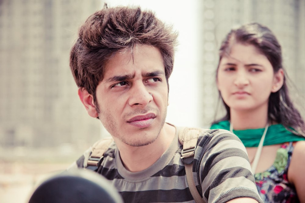 Still of Shashank Arora and Shivani Raghuvanshi from Titli movie