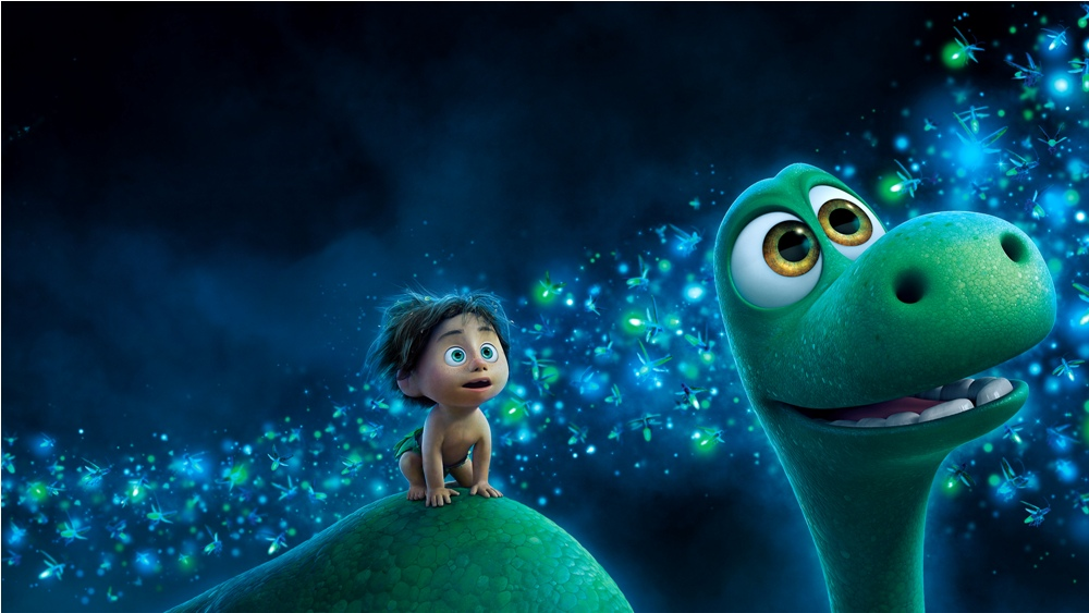 Still of Arlo and Spot from The Good Dinosaur