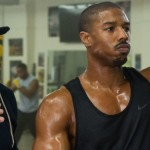 still of Rocky and Adonis Jonhson in Creed movie