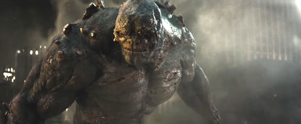still of doomsday from batman v superman dawn of justice