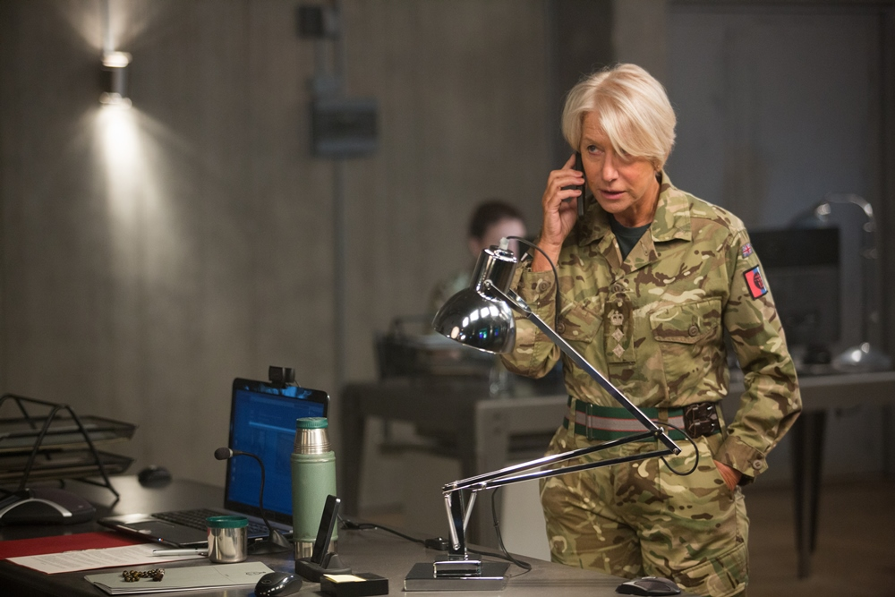 Still of Helen Mirren in Eye in the sky movie wallpaper