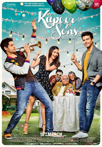 kapoor and sons movie poster