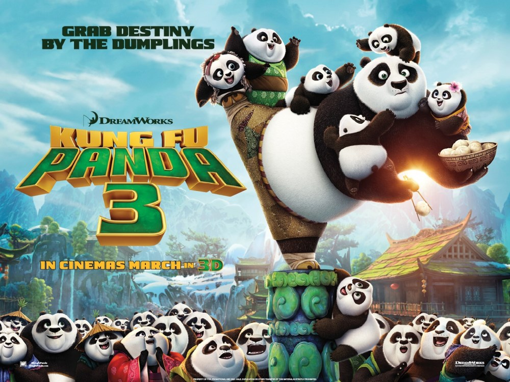 kung fu panda 3 movie wallpaper