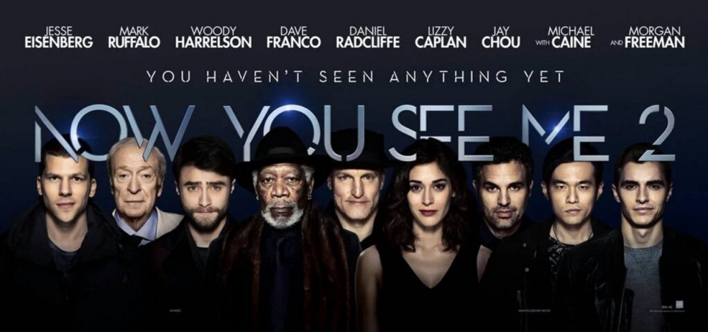 Now you see me 2 movie wallpaper